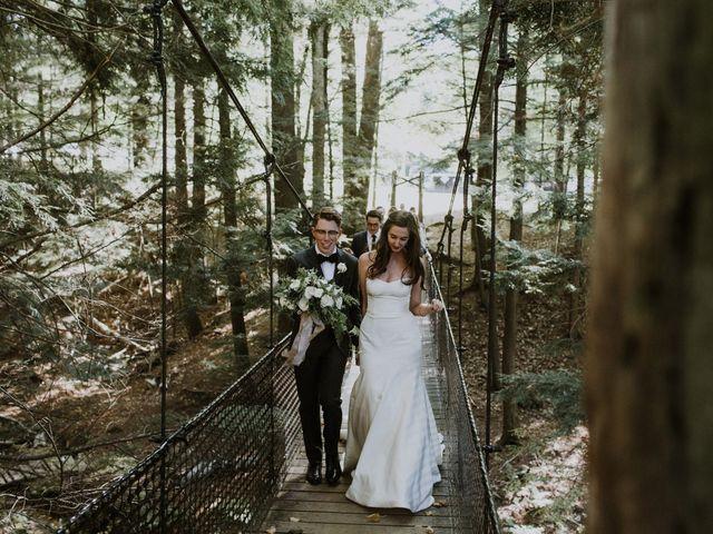 Tyrone and Danielle's wedding in Huntsville, Ontario 52