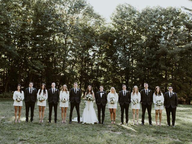 Tyrone and Danielle's wedding in Huntsville, Ontario 53