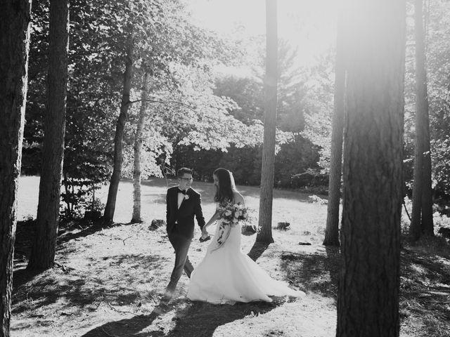 Tyrone and Danielle's wedding in Huntsville, Ontario 59