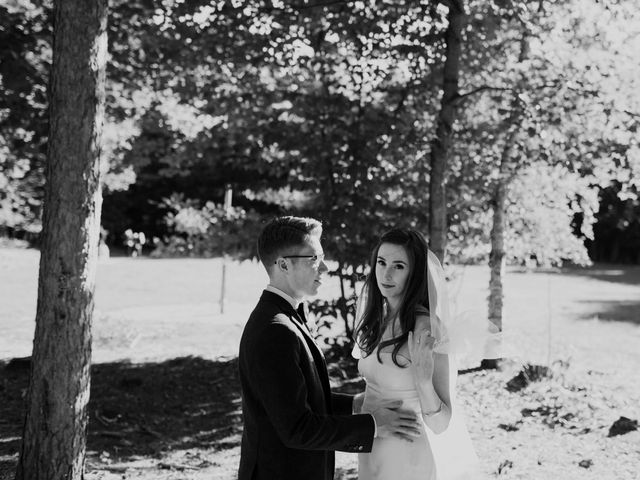 Tyrone and Danielle's wedding in Huntsville, Ontario 60