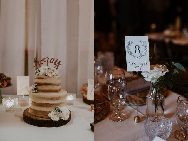 Tyrone and Danielle's wedding in Huntsville, Ontario 73