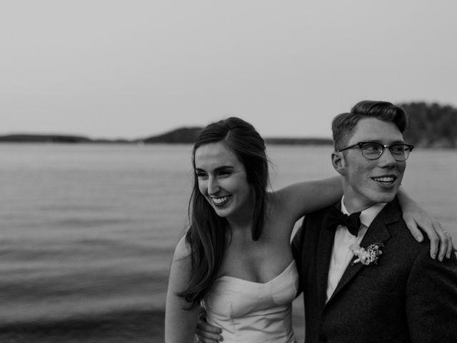 Tyrone and Danielle's wedding in Huntsville, Ontario 80