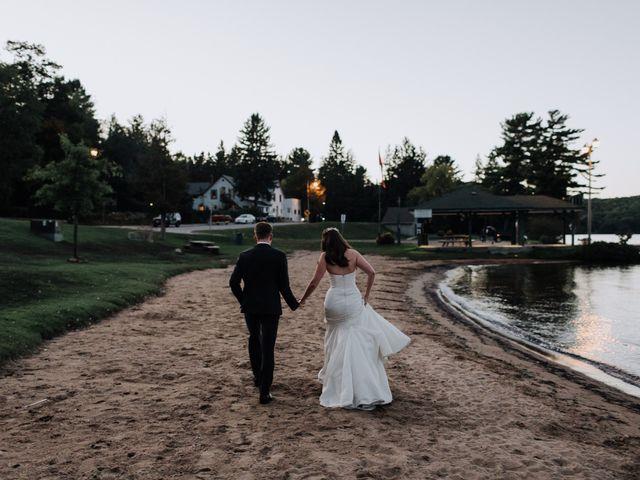 Tyrone and Danielle's wedding in Huntsville, Ontario 81