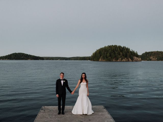 Tyrone and Danielle's wedding in Huntsville, Ontario 82
