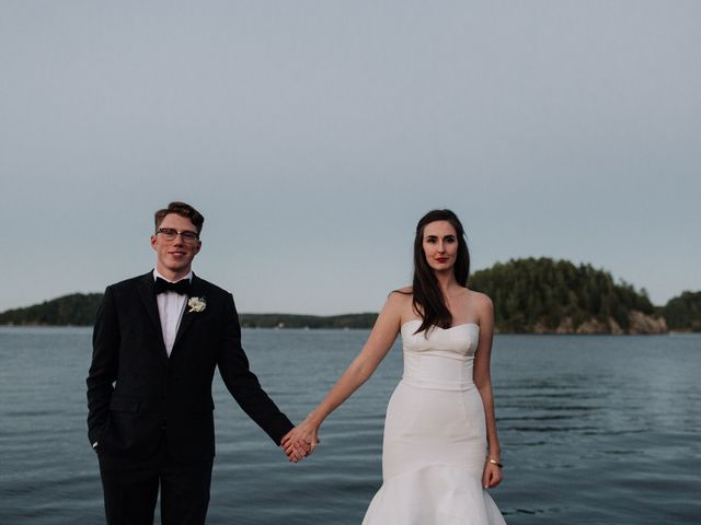 Tyrone and Danielle's wedding in Huntsville, Ontario 83