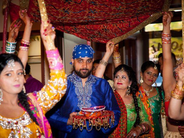 Tejapal and Mandy's wedding in Toronto, Ontario 2