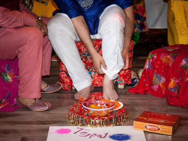 Tejapal and Mandy's wedding in Toronto, Ontario 5
