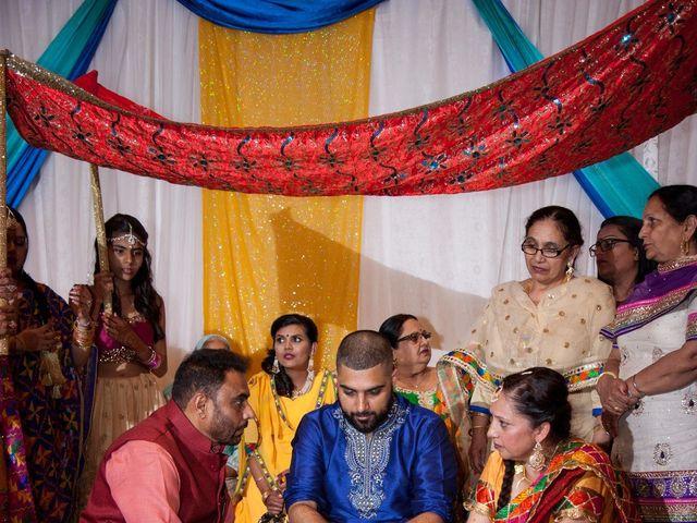 Tejapal and Mandy's wedding in Toronto, Ontario 7