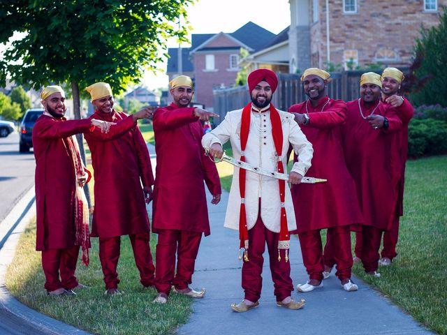 Tejapal and Mandy's wedding in Toronto, Ontario 18