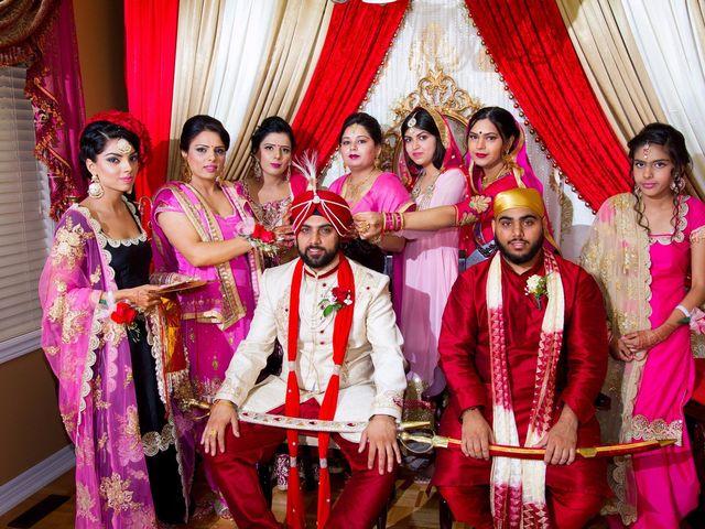 Tejapal and Mandy's wedding in Toronto, Ontario 22