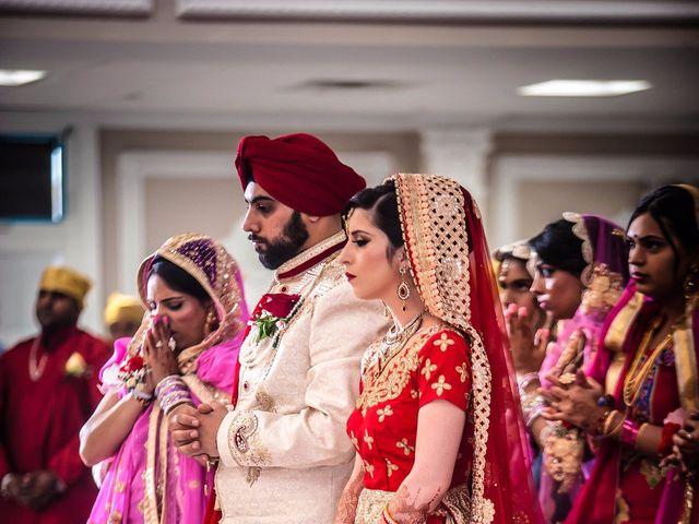 Tejapal and Mandy's wedding in Toronto, Ontario 1