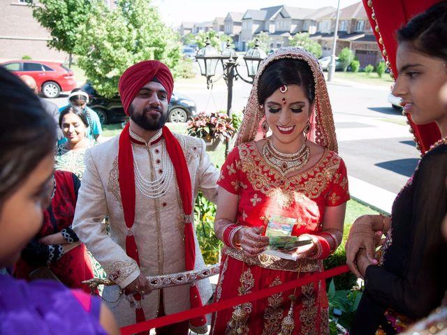 Tejapal and Mandy's wedding in Toronto, Ontario 43