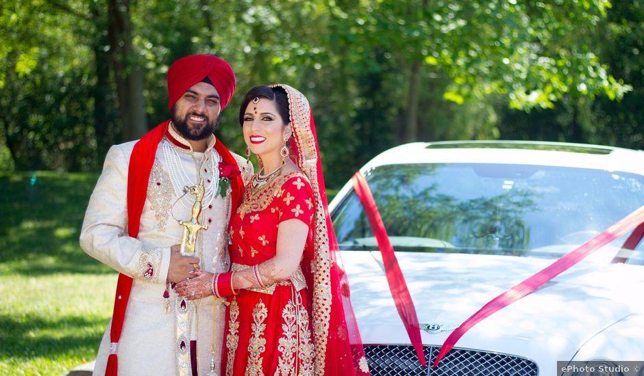 Tejapal and Mandy's wedding in Toronto, Ontario