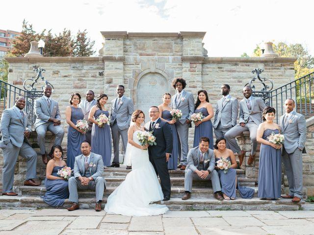 The wedding of Chantelle Dela Cruz and Julius Naredo