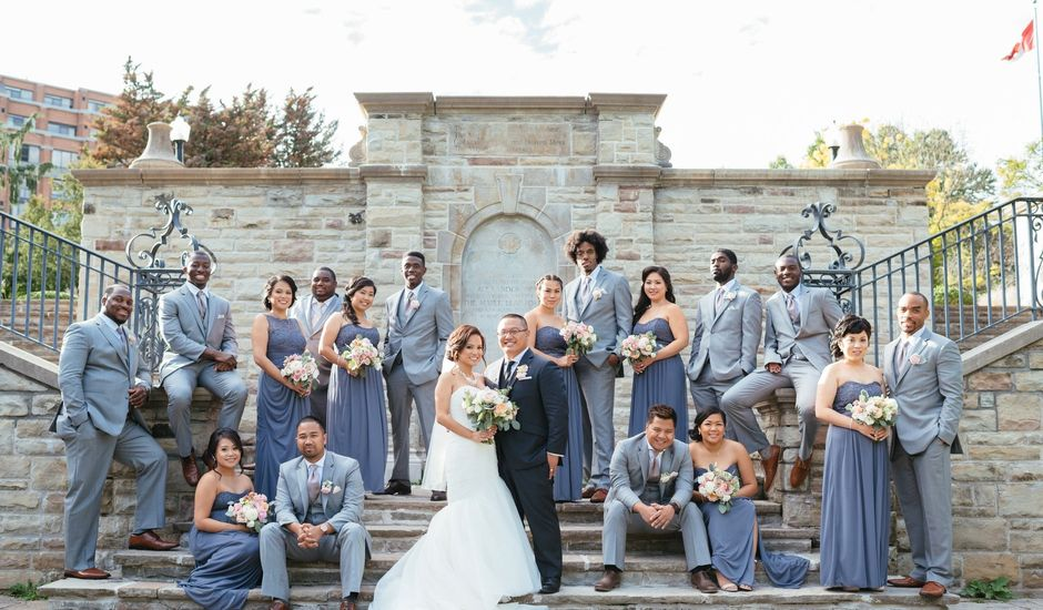 Julius Naredo and Chantelle Dela Cruz's wedding in Toronto, Ontario