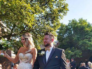 The wedding of Sarah and Robert