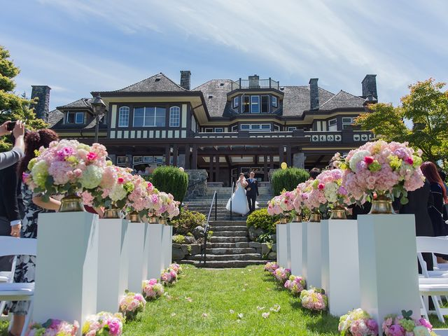 Yoga and Andy's wedding in Vancouver, British Columbia 8