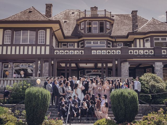 Yoga and Andy's wedding in Vancouver, British Columbia 11