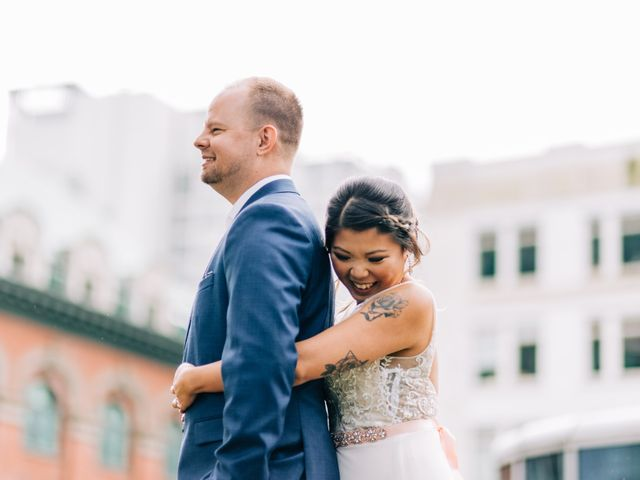 Kyle and Mel's wedding in Vancouver, British Columbia 5