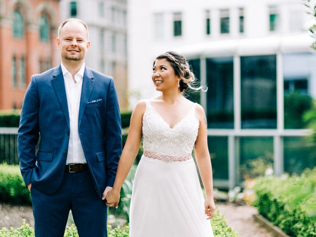 Kyle and Mel's wedding in Vancouver, British Columbia 8