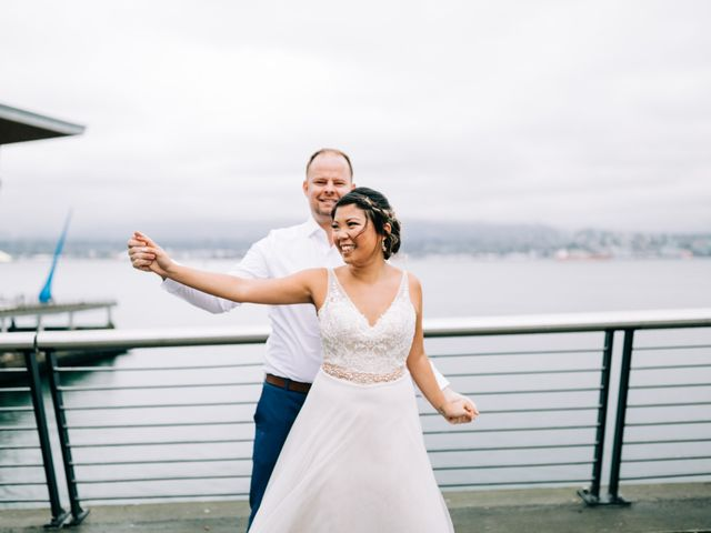 The wedding of Mel and Kyle