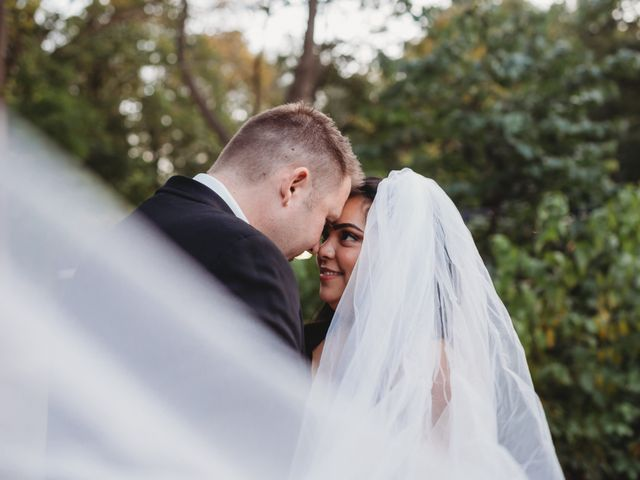 Maria and Stephen's wedding in Ancaster, Ontario 1