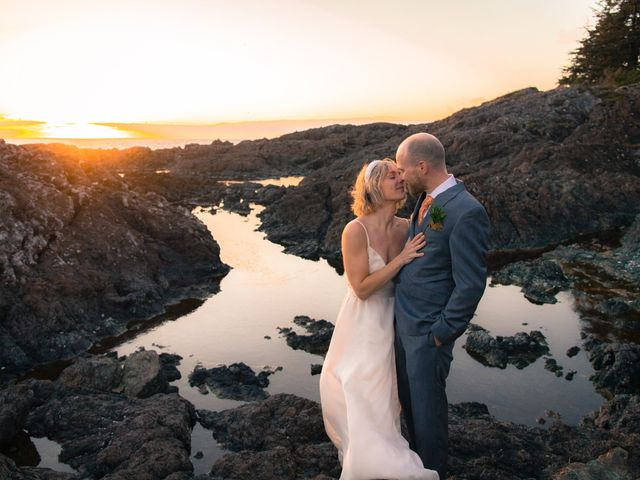Kris and Emma's wedding in Ucluelet, British Columbia 1
