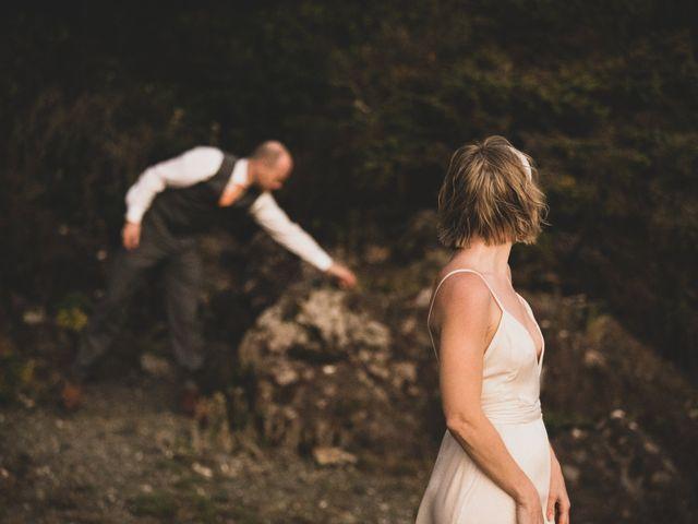 Kris and Emma's wedding in Ucluelet, British Columbia 5