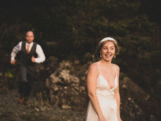 Kris and Emma's wedding in Ucluelet, British Columbia 8