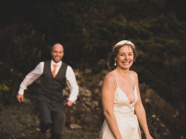 Kris and Emma's wedding in Ucluelet, British Columbia 9