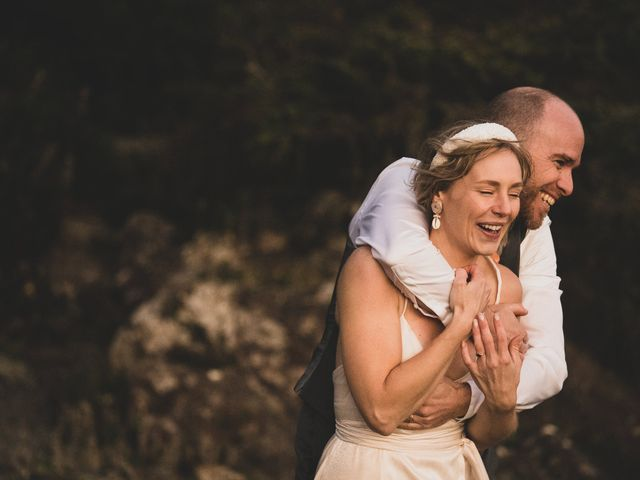 Kris and Emma's wedding in Ucluelet, British Columbia 13