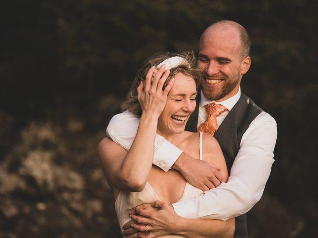 Kris and Emma's wedding in Ucluelet, British Columbia 16