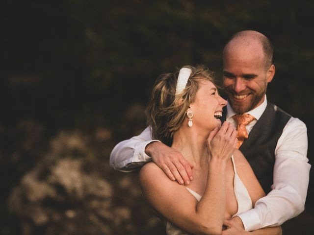 Kris and Emma's wedding in Ucluelet, British Columbia 17