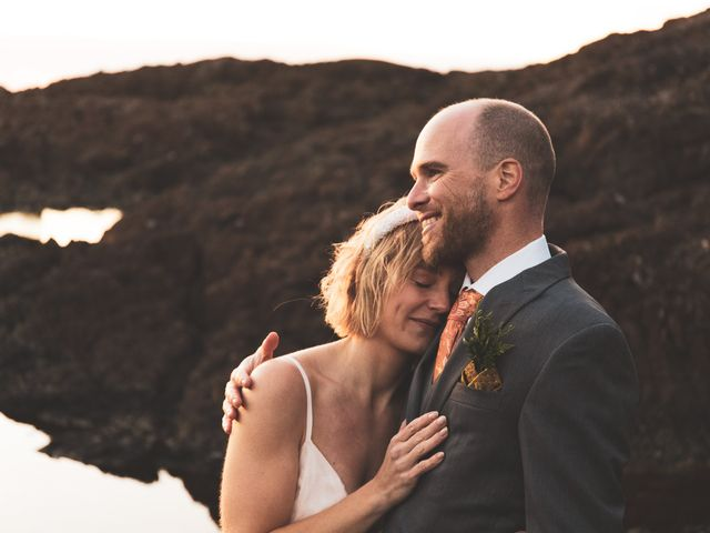 Kris and Emma's wedding in Ucluelet, British Columbia 22