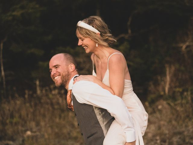Kris and Emma's wedding in Ucluelet, British Columbia 33