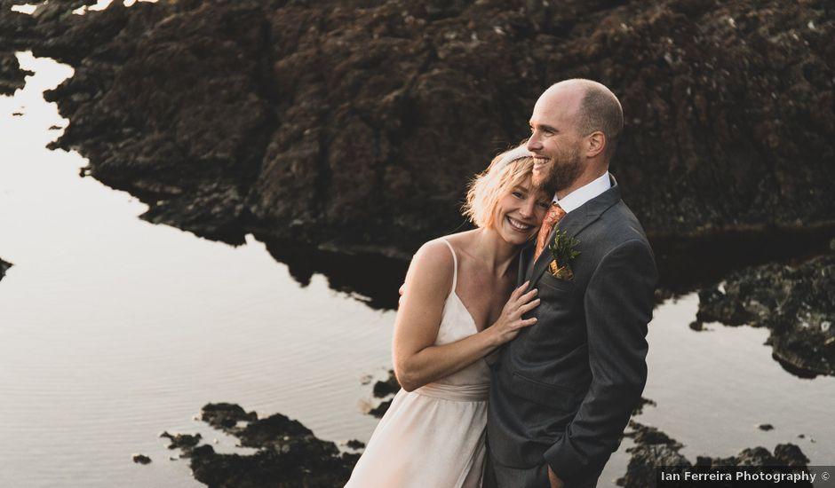 Kris and Emma's wedding in Ucluelet, British Columbia