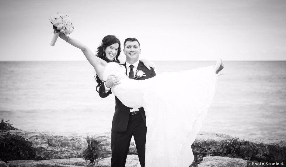 William and Diane's wedding in Mississauga, Ontario