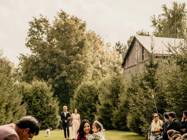 Phrynyll and Chester's wedding in Mono, Ontario 55