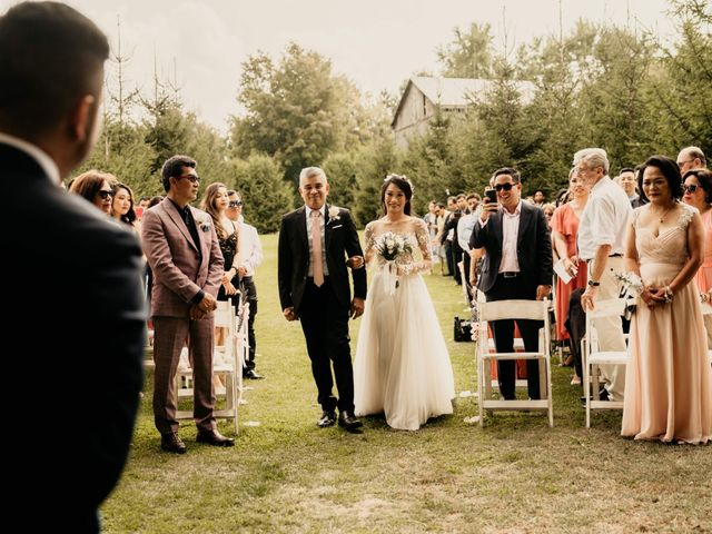 Phrynyll and Chester's wedding in Mono, Ontario 57