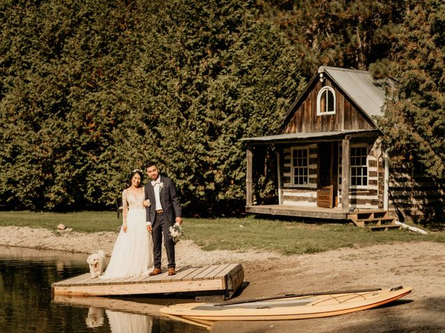 Phrynyll and Chester's wedding in Mono, Ontario 76