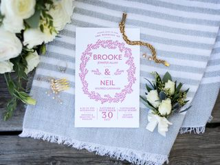 The wedding of Brooke and Neil 3