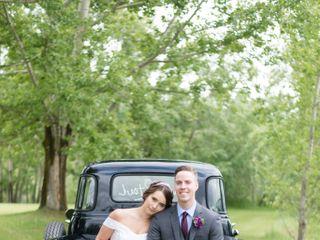 The wedding of Janene and Jenkin