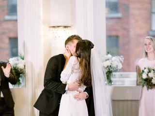 The wedding of Samantha and Jon