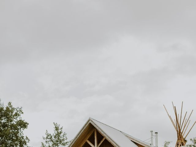 Dave and Syd's wedding in Dawson Creek, British Columbia 12