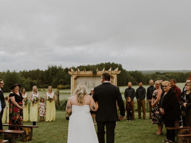 Dave and Syd's wedding in Dawson Creek, British Columbia 14