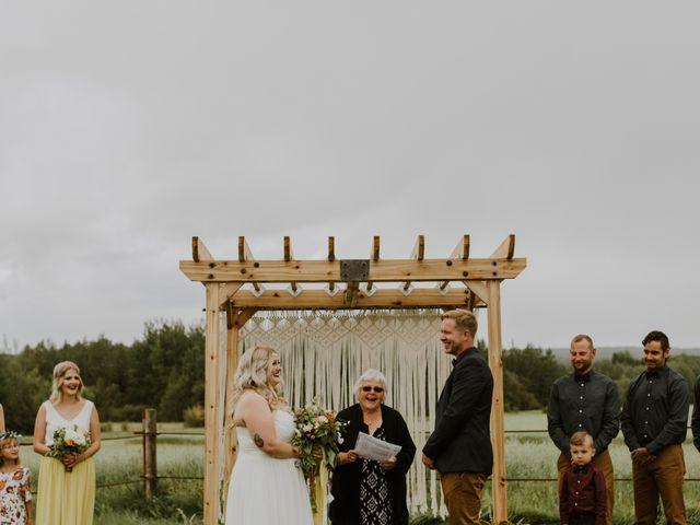 Dave and Syd's wedding in Dawson Creek, British Columbia 15