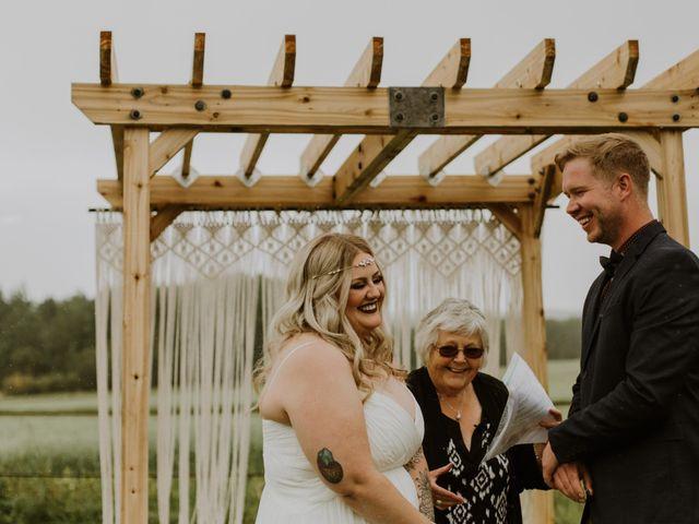 Dave and Syd's wedding in Dawson Creek, British Columbia 16