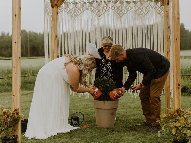 Dave and Syd's wedding in Dawson Creek, British Columbia 17