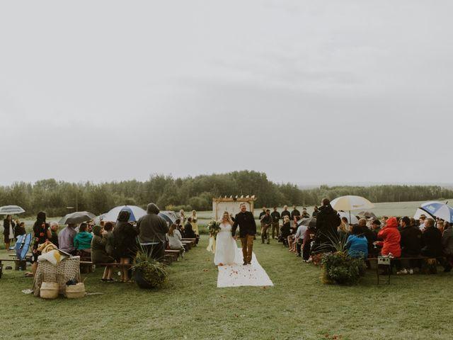 Dave and Syd's wedding in Dawson Creek, British Columbia 19
