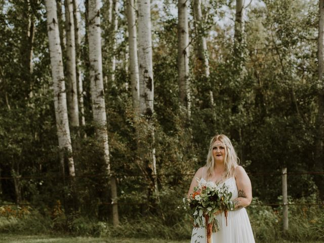 Dave and Syd's wedding in Dawson Creek, British Columbia 22